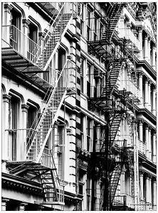 Coloriage Les Escaliers De China Town New York Artpla New York