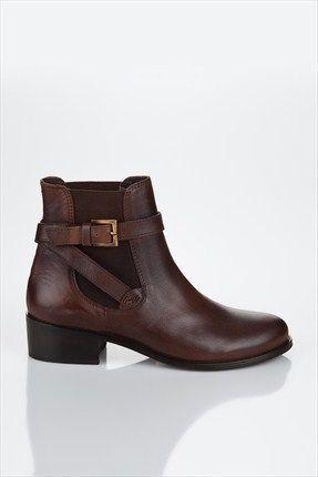 Deniz Akkaya Inci Hakiki Deri Kahverengi Bot Izbck3b08382420 64 Indirimle 129 99tl Ile Trendyol Da 12999tl Akkaya Gents Shoes Womens Boots Ankle Boots