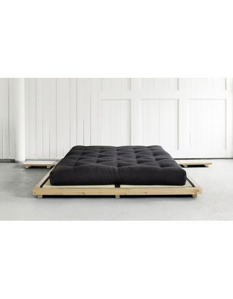 Dock Futon Bed Natural Finish