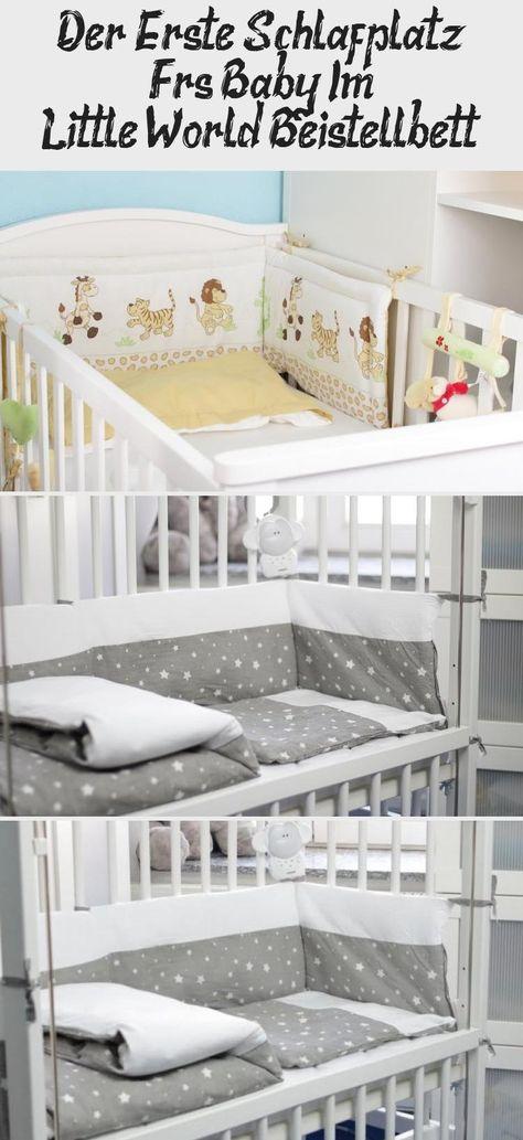 Anzeige Der Erste Schlafplatz Fur S Baby Im Little World Beistellbett Im Elternschlafzimmer Babywalz Babyzimmer Schlafenszeit Bei Beistellbett Babyzimmer Und Bett