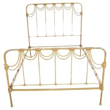 antique wrought iron bed frame full bedroom inspiration pinterest wrought iron bed frames wrought iron beds and u2026