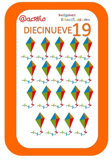 Cartas Juguetes Numeros 19 Juegos De Cartas Tarjeta Didactica Tarjetas Imprimibles