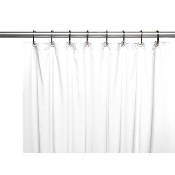 Wireline 118 Adjustable Straight Tension Shower Curtain Rod Hook Set Vinyl Shower Curtains Long Shower