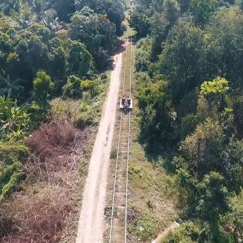 Bamboo Train | Cambodia  Bamboo Train | Cambodia   Rocket through the Cambodian wilderness on this bamboo train!   #Bamboo #Cambodia #Train