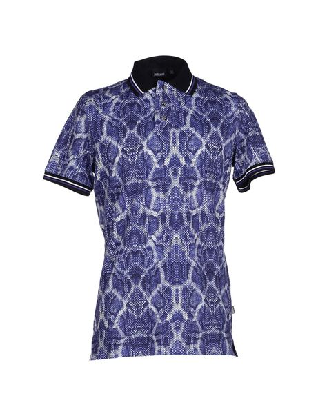Just Cavalli Polo Shirt - Men Just Cavalli Polo Shirts online on YOOX Belgium - 37763332TV