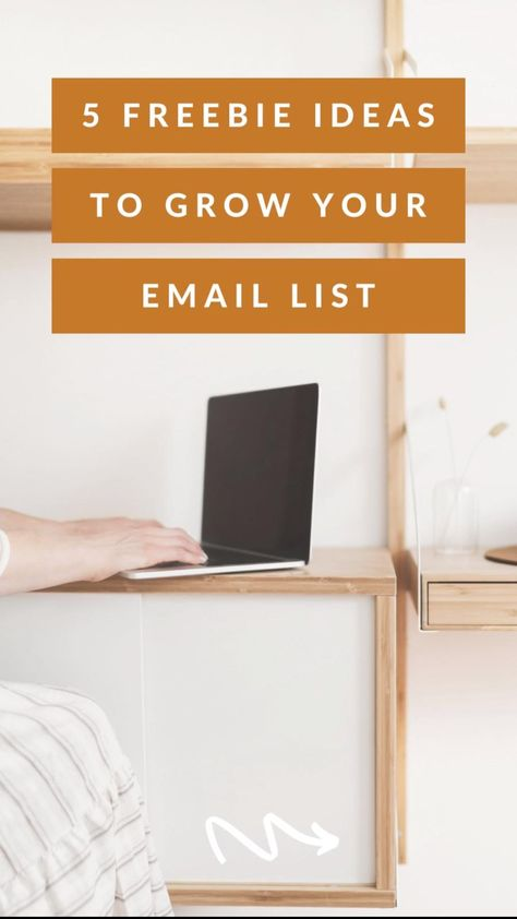 5 Freebie Opt-In Ideas to Grow Your Email List | Email Marketing Lead Magnet Ideas