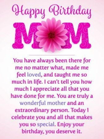 New Birthday Wishes For Mom From Daughter Quote 68 Ideas