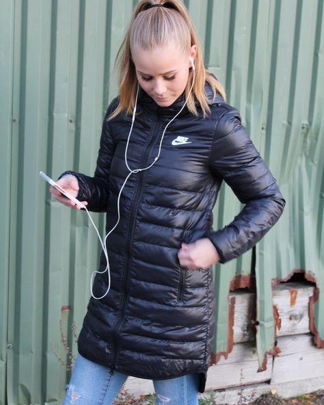compañera de clases visto ropa Tormento  Nike Downfall Parka ❤️ #nike #nyheter #downparka / 1450,- på navasport.no ⭐️