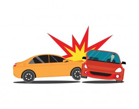 Auto Accident Involving Two Cars Stock Vector Aff Involving Accident Auto Vector Ad Di 2020 Mobil Ilustrasi