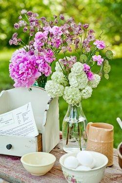 lovely flower display    #memorial