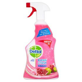 Dettol Power Fresh Cleaning Spray Pomegranate Lime Asda