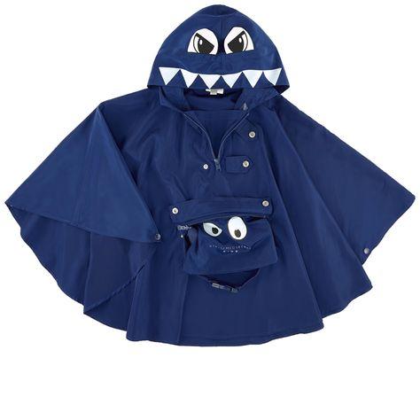 Monster rain poncho