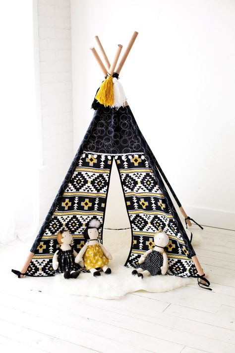 Playhouse Teepee Pattern: We are so excited to release our first pattern which is available now for sale in our shop!!!