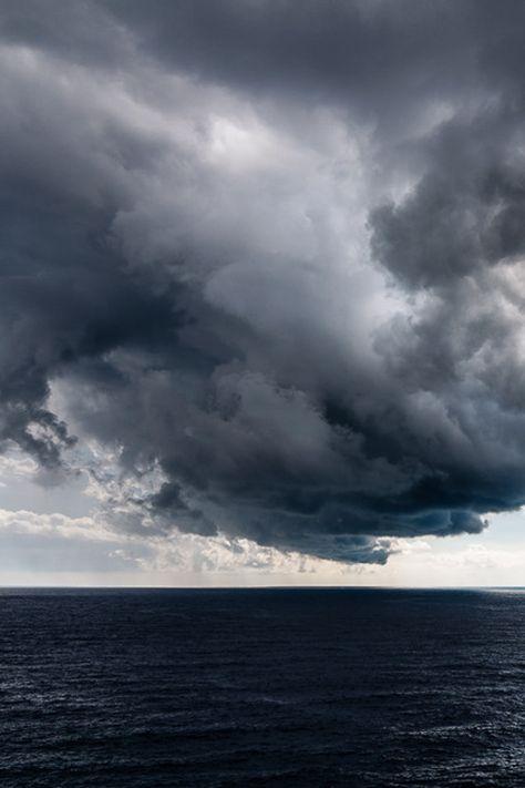 Storm from the sea ~ By Zsolt Varanka