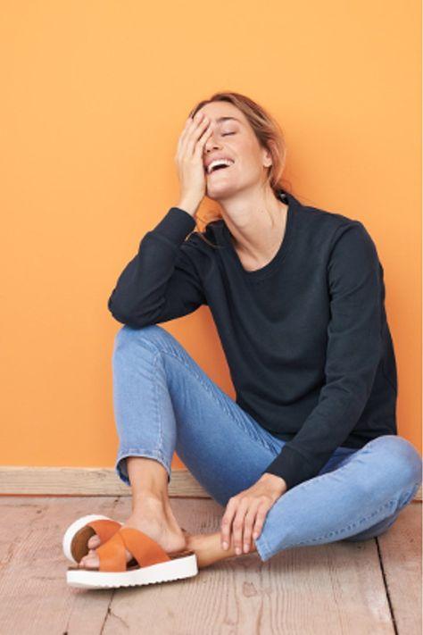 Damen 78 Treggings Jeans Look