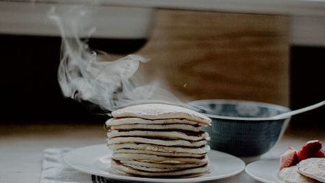too much coffee, not enough pancakes
