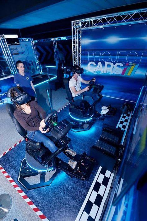 Project Cars  #basicStation #VRArcade #VRArcadeLugano #transfinity #transfinityVr #VirtecAttractions #SwissVRArcade #virtual #reality #games