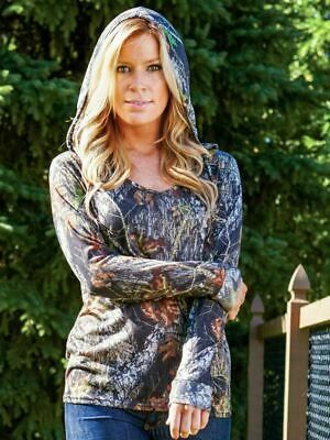 Wilderness Dreams Womens Mossy Oak Break-Up Camo Lounge Shorts 605035
