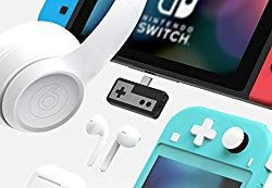 Rayvol Bluetooth Adapter for Nintendo Switch & Lite & PS4 Wireless Audio  Transmitter w/USB C Connector Pass Thr… | Bluetooth adapter, Audio  transmitters, Headphones