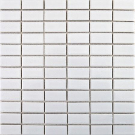 Bijou Brick Gloss White Mosaic Tiles In 2020 White Mosaic Tiles Mosaic Tiles Wet Room Tiles