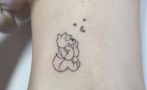Girly Tattoos, Disney Tattoos, Disney Inspired Tattoos, Cute Little Tattoos, Tiny Tattoos For Girls, Cute Tattoos For Women, Cute Small Tattoos, Feminine Tattoos, Tiny Disney Tattoo