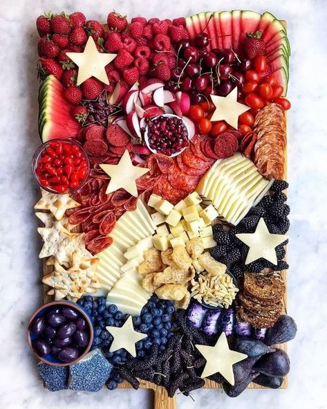 Fourth Of July Food, 4th Of July Celebration, 4th Of July Party, Patriotic Party, 4th Of July Ideas, Patriotic Crafts, July Crafts, Holiday Treats, Holiday Recipes