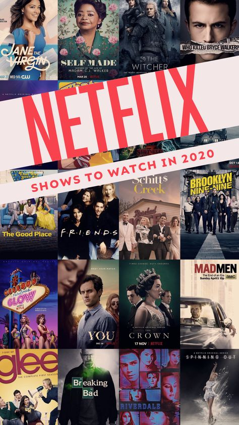 Netflix shows to watch in 2020