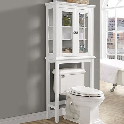 Apothecary Over The Toilet Space Saver Bed Bath Beyond Toilet Storage Over Toilet Storage Small Bathroom