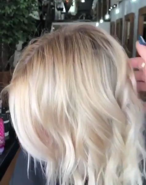 Perfectly blended blonde