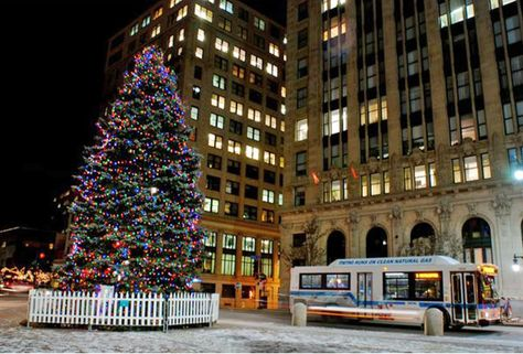 Portland Maine Christmas.Christmas Time In Downtown Portland Maine Favorite Places