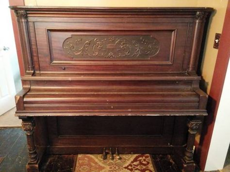 Free Lester upright piano. A big old clunker, but a ...