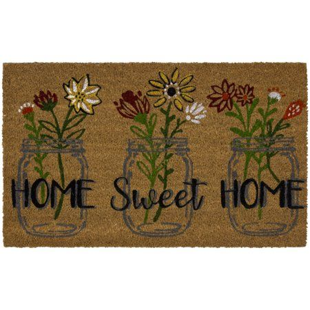 Home In 2020 Coir Doormat Coir Flowers