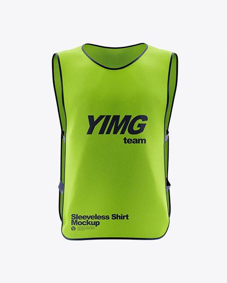 Download Sleeveless Shirt Mockup In Apparel Mockups On Yellow Images Object Mockups Shirt Mockup Clothing Mockup Basketball Tank Tops