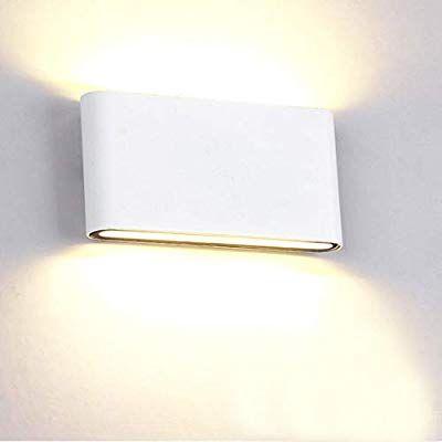 Micun 12w Wandleuchte Led Innen Wandlampe Aussen Aluminium