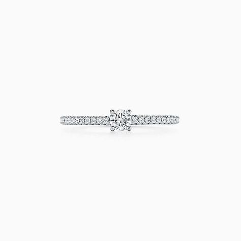 0f61e4eb0 Tiffany Novo® Horizon ring in platinum with diamonds. | Tiffany & Co.