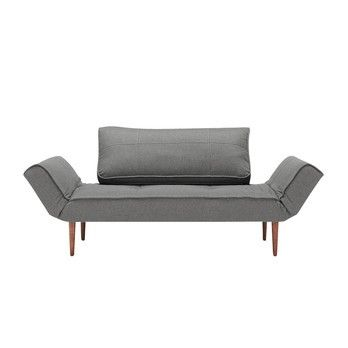 Innovation Zeal Styletto Sofa Bed 200x72cm Canape Lit Design Canape De Bois Lit Design
