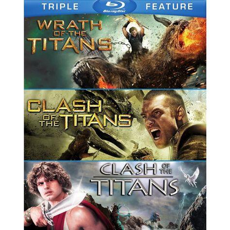 Clash of the Titans (2010) / Clash of the Titans (1981) / Wrath Of The Titans (Blu-ray)(2015)