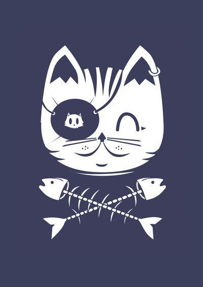 Bandera del capitán Cat Sparrow