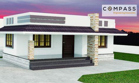 Best 1000 Square Feet 2bhk Modern Home Plan Below 9 Lakhs Acha Homes Modern House Plans House Plans 2bhk House Plan
