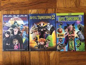 Hotel Transylvania 1 3 Dvd Movie Bundle 1 2 3 Usa Free Shipping