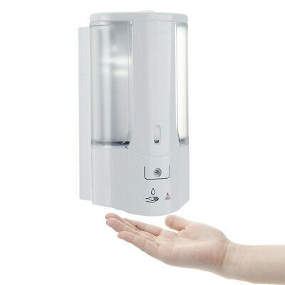Advertisement 450ml Wall Mounted Automatic Infrared Sensor Hand Free Soap Dispenser Bathroom Soap Dispenser Wall Bathroom Soap Dispenser Soap Dispenser