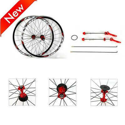 Sponsored Ebay 700c Road Bike Bicycle Front Rear Wheel Set Hub