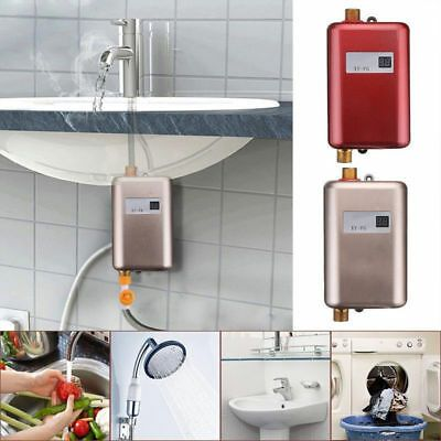 Details About 220v Mini Electric Tankless Instant Hot Water