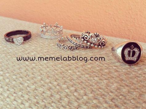 Sentirsi una principessa  Con la nuova collezione Anelli www.memelabblog.com