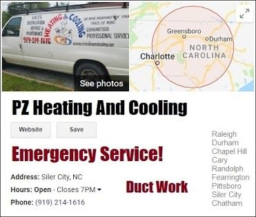 Heating Cooling System Inspections Repair Replacement