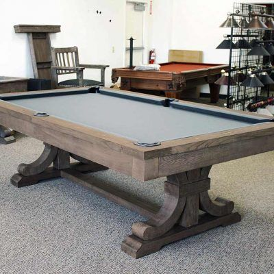 The Carmel Pool Table Dining Weathered Oak Finish Convertible Pool Table Outdoor Pool Table Pool Table Room