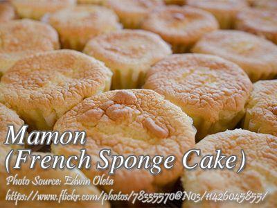 Mamon French Sponge Cake Kawaling Pinoy Tasty Recipes Recipe Mamon Recipe Yummy Food Bread And Pastries