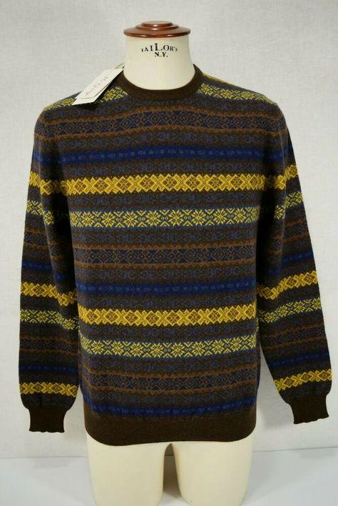 Maglione Uomo Blu Slim Fit Cardigan Cotone Primaverile Casual Pullover Maglione
