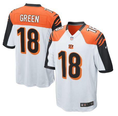 Nike Bengals  18 A.J. Green White Men s Stitched NFL Elite Jersey d8e77f378