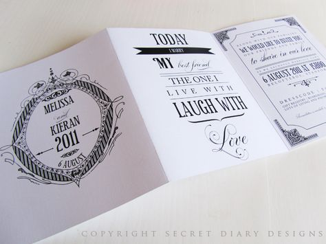 3 Fold Wedding Invitation From Secret Diary Designs Www Secretdiary Co Za Weddinginvitation Invitations Stationery Weddings Invites